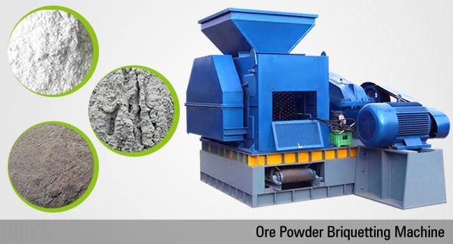 ore powder briquette machine